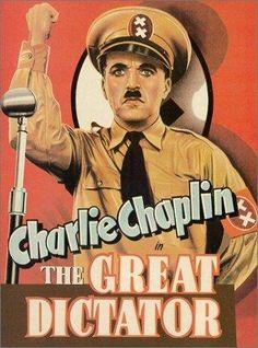 El gran dictador [The Great Dictator]. Estados Unidos, 1940. Dir. Charles Chaplin. Música de Charles Chaplin. Int.: Charles Chaplin, Jack Oakie, Reginald Gardiner, Henry Daniell, Paulette Goddard, Billy Gilbert