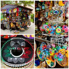 Authentic Mexican Souvenirs available at Dreams Puerto Aventuras - afarmgirlsdabbles.com