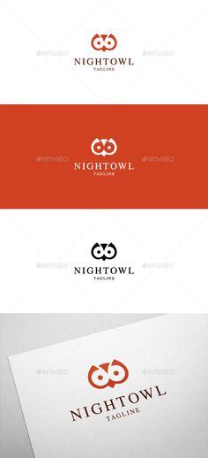 Night Owl Logo — Vector EPS #wisdom #smart • Available here → https://graphicriver.net/item/night-owl-logo/6405187?ref=pxcr