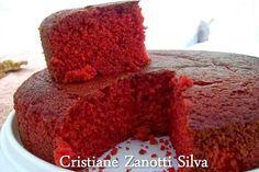 Postado por Cristiane Zanotti Silva Receita BOLO Red Velvet Massa: 2 1/2 xícara de farinha de trigo 1 1/2 xícara de açúcar 1 colh... Easy Smoothie Recipes, Easy Smoothies, Good Healthy Recipes, Bolo Red Velvet Receita, Cake Recipes, Dessert Recipes, Desserts, Drink Recipes, Bolos Naked Cake