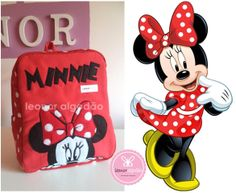 minnie backpack for a girl or baby girl  https://www.facebook.com/leonoralgodao