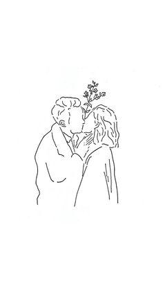 -bleistift - - - Beauty Canvas Art Print by Honeymoon Hotel Minimalist Drawing, Minimalist Art, Art And Illustration, Gif Kunst, Art Sketches, Art Drawings, Botanical Wall Art, Wow Art, Instagram Highlight Icons