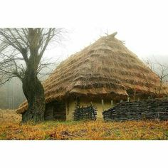#photo #Ukraine #Украина #Україна  #country #photoukraine Українська хата Ukrainian Art, Color Magic, Cabins And Cottages, Aesthetic Colors, Landscape Pictures, Historical Architecture, Best Photographers, Eastern Europe, Science And Nature