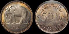 E-Auction 40 Lot 169 | Davissons Ltd Belgian Congo, Elephant Walk, Lots For Sale, World Coins, Auction, Personalized Items