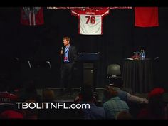 """On October 30, 2010, Steve Hardison shared what has come to be known as the Deuce Lutui story at the University of Utah's Rice-Eccles Stadium to an audience of approximately 600 people. This is Steve's entire presentation. Introduction by Brandon Craig.  For more information and updates regarding the TBOLITNFL movement, visit TBOLITNFL.com or join """"Deuce's Team"""" on Facebook.  (Please note: there is a short version of this video available as well)."""