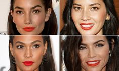 Get in on the trend! Model Lily Aldridge, 30, and actress Olivia Munn, 35, show you how to wear the lip color of the moment. Shop your perfect and shade and formula from our list of favorites.