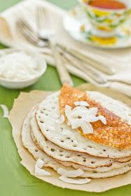 Rice and Coconut Pancakes