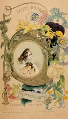 The Ladys Book of Flowers and Poetry   1846