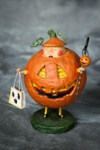 Lori Mitchell Jack Squash Pumpkin Boy at TheHolidayBarn.com