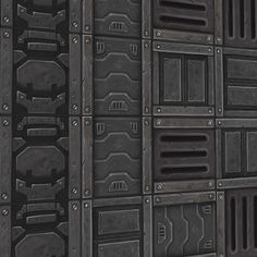 Scifi Canvas 1 | Hand Painted Textures