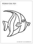 Free printables!! Coral reef fishes coloring pages