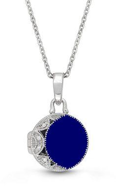 Mrsrui Galaxy Photo Locket Necklace Vintage Bronze World Pendant Necklace Statement Jewelry