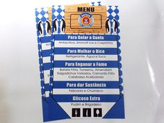 Cardápio/Menu Simples para Mesa 14x22,5cm  http://www.elo7.com.br/cardapio-menu-simples-para-mesa-14x22cm/dp/3A0417