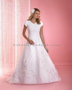 Marsha-Modest Wedding dresses with sleeves