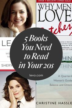 In honor of National Reading Month in March, we're sharing the best reads for 20-something women! #LevoReads #MustRead #Books www.levo.com