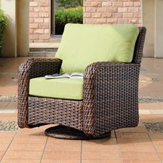 Shop South Sea Rattan & Wicker Furniture South Sea Rattan & Wicker Furniture 79305 Saint Tropez Swivel Glider at ATG Stores. Browse our outdoor lounge chairs, all with free shipping and best price guaranteed.