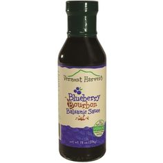 Blueberry Bourbon Balsamic Sauce (14 oz) (485 RUB) ❤ liked on Polyvore featuring home e kitchen & dining
