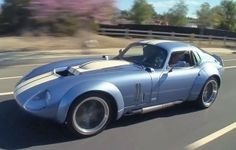 Jay Leno Takes A Spin In A Shelby Brock Daytona Coupe (VIDEO)