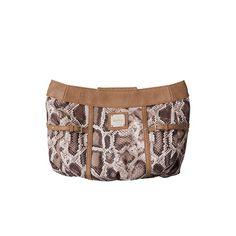 Bianca - The fabulous Bianca Shell for Demi Miche Bags lets you take a walk on the wild side with undeniable style. Matte distressed snakeskin print faux leather in various shades of brown and cream combines with rivet details, tan accents and a buckle to create an exciting fresh look. Long zippered back pocket easily holds a wallet, cell phone and car keys. Streamlined design with oval bottom (Base Bag & Handles not included. Price:  $19.98 www.bagsbylaurie.miche.com