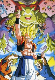 Gogeta Goku Vegeta Trunks Goten Janemba Fusion And Son