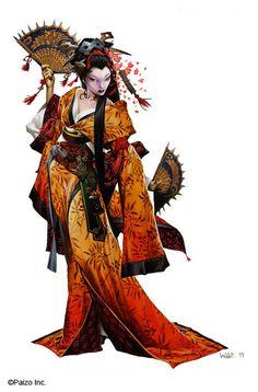 Wayne Reynolds Artworks | O Sayumi Geisha