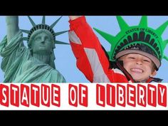 "My 12 year old reporter & niece, Olivia,  files this report on the Statue of Liberty from New York. ..........................................................................................................................................    The ""Statue of Liberty Enlightening the World"" was a gift of friendship from the people of France to the pe..."