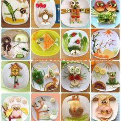 Cute kids sandwich and food ideas