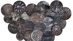 Primeras monedas de Dinamarca: un joven halla el tesoro del rey Harald Bluetooth