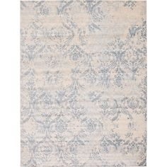 Shop for Kensington Blue/Cream Abstract Area Rug (12'2 x 16'). Get free shipping at Overstock.com - Your Online Home Decor Outlet Store! Get 5% in rewards with Club O! - 24243602