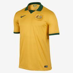 2014 Australia Stadium Men s Soccer Jersey. Nike Store All Team a3e635486