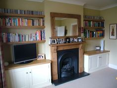 Fitted Wardrobe Alcove Cabinets Shelves