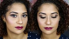 سموكي بني ناعم للعيون المبطنة   OZO Makeup