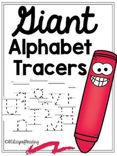 WHAT??!! THESE ARE FREE!  Go and get them!  Great for handwriting practice or at an alphabet center.  They are awesome!