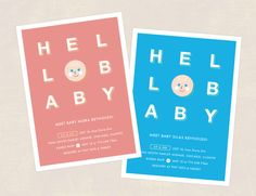 Hello Cutie Baby Shower Invite on Behance