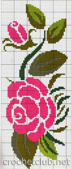 New Embroidery Rose Pattern Design Cross Stitch Ideas Cross Stitch Rose, Cross Stitch Borders, Cross Stitch Flowers, Cross Stitch Charts, Cross Stitch Designs, Cross Stitching, Cross Stitch Patterns, Rose Embroidery, Cross Stitch Embroidery