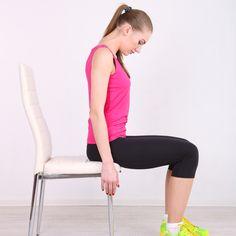 ασκήσεις στην καρέκλα