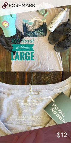 REI Royal Robbins tee Royal Robbins tee from REI. NWT! Royal Robbins Tops Tees - Short Sleeve