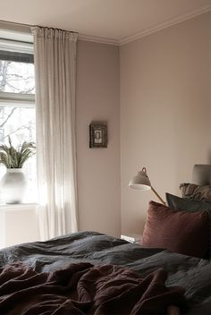 Jotun Paint, Skin So Soft, Homemaking, Colorful Interiors, Shag Rug, Color Combinations, Diy And Crafts, Sleep, Curtains