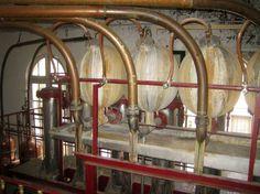 Combier Distillery. Designed by Gustave Eiffel in 1850.