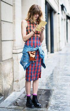 The Veronika Heilbrunner School of Styling: Spring Dresses Edition via @WhoWhatWear