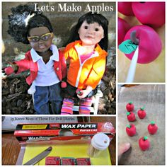 Doll Craft - make doll sized apples