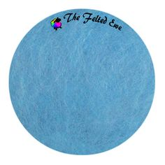 Needle Felting Maori Wool Batt / FB23 September Blues Maori