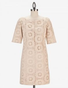 I can't decide if this dress is cute or looks too old? Maybe it just need the right accessories.