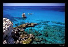 This photo from Larnaca, East is titled 'Ayia Napa'. Paradise Island, Island Life, Beautiful World, Beautiful Places, Beautiful Scenery, Visit Cyprus, Visit Turkey, Ayia Napa, Paphos