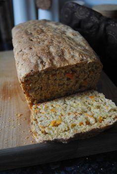 Terveen hyvää: Whole Wheat Carrot Sunflower Seed Bread