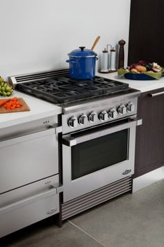 e87ee72478f DCS Professional 36-Inch 6-Burner Natural Gas Range By Fisher Paykel -  RGU366N