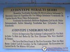 aydıntepe-yer altı şehri Underground Cities, Event Ticket, Personalized Items
