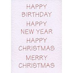 Free Words for card stitching in Free E-patterns patterns at Stitching Cards - ePatterns for paper embroidery