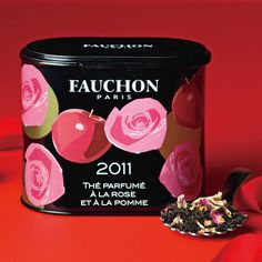 Rose and apple tea from Fauchon. Sounds yummy! :9 by trisha