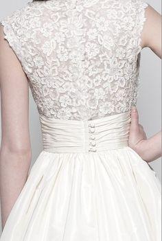 Wedding dress custom made Watters Wedding Dresses Style W110410  Simple, beautiful, and modest. Love it.